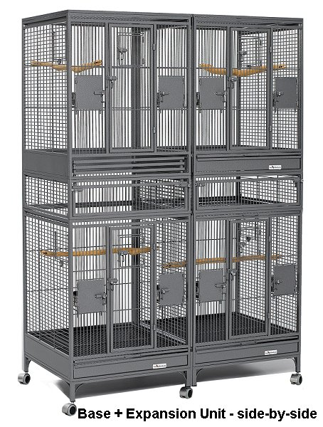 Avian Adventures Multi Vista Stacking Bird Cages