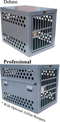 zinger large deluxe aluminum dog crate model