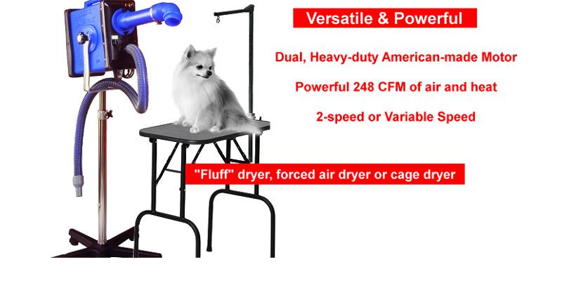 Double K Challengerair Portable Dog Dryers