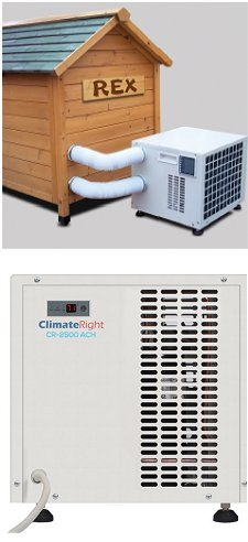 Climateright Dog House Air Conditioner And Heater Unit