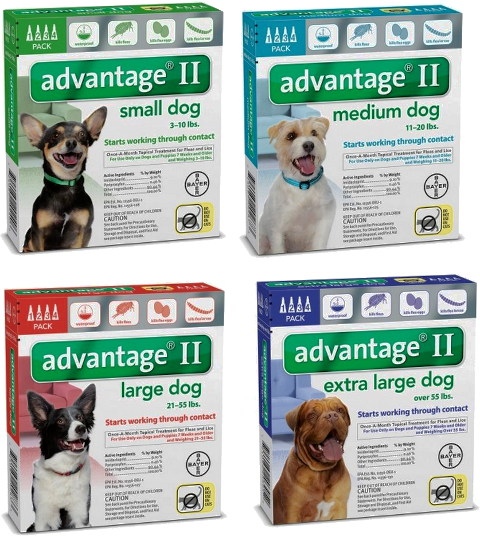 Advantage Flea Control For Dogs And Cats
