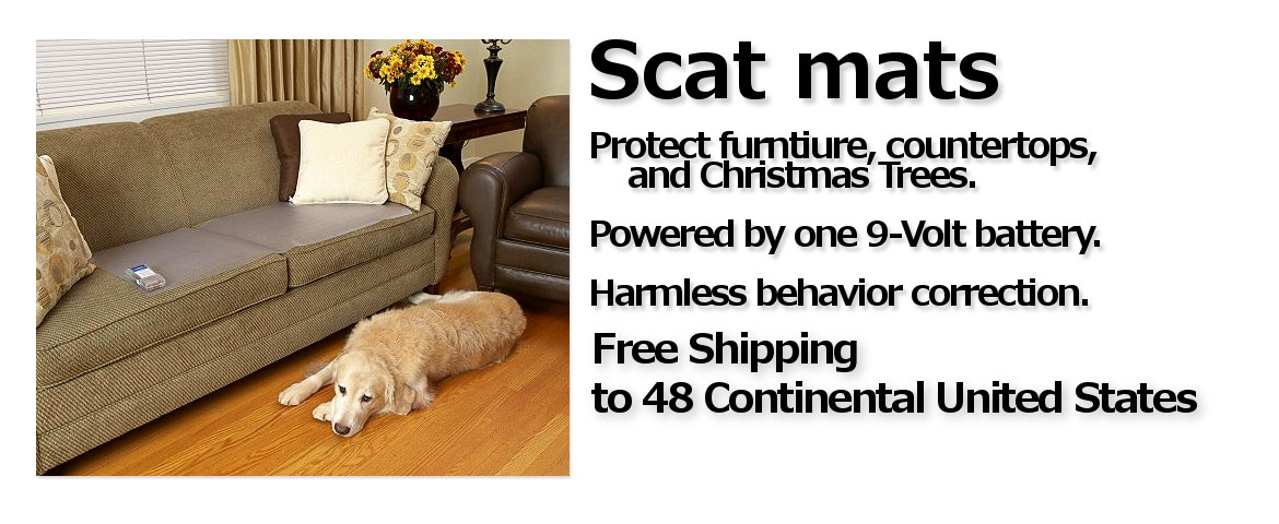 Scat Mats with Free Shipping